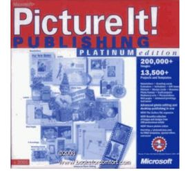 MICROSOFT: Picture It! Publishing, Platinum Edition, V2001 for Sale in Murrieta,  CA