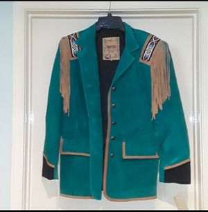 New Frontier Collection Western Leather Jacket for Sale in Redlands, CA