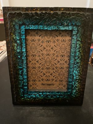 Turquoise and Brown Frame for Sale in Lubbock, TX