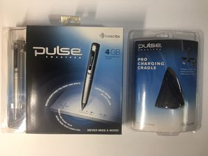 Livescribe Pulse Smartpen 4 GB and Pro Charging Cradle - NEW for Sale in Lutz, FL