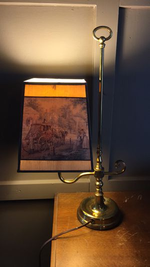 English Antique Table Lamp for Sale in Loveland, CO