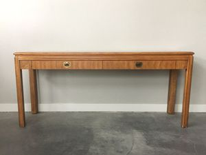 vintage mid century Drexel Passage console table for Sale in Seattle, WA