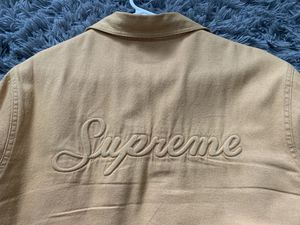 Supreme Sherpa Lined Denim Jacket (L) for Sale in Rancho Cucamonga, CA