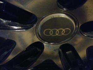 Audi 5 Audi (Armano) Brand 22 in rims and tires, (Dcenti)Tires are New!! for Sale in Tacoma, WA