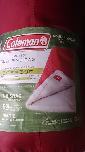 Coleman sleeping bag for Sale in Torrance, CA