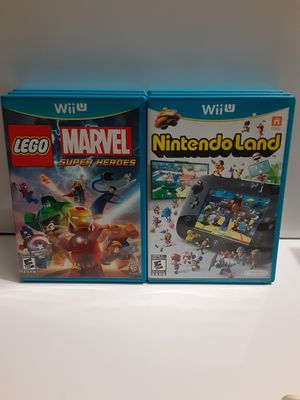 Wii U Marvel Lego and Nintendo Land for Sale in Corona, CA