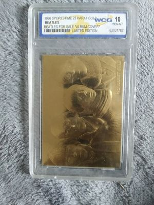 The beatles graded card for Sale in Mahanoy City, PA