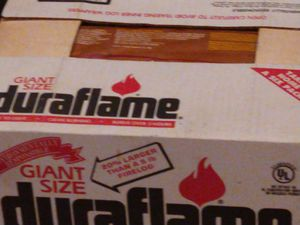 Duraflame extra big fire logs for Sale in Castro Valley, CA