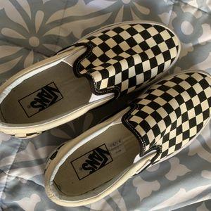 Checkered vans for Sale in Herndon, VA