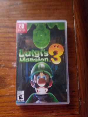 Luigis mansion 3 for Sale in Keysville, GA