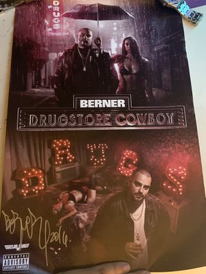 """Cookies founder Gilbert Milam jr. """"Berner"""" autograph for Sale in Los Angeles, CA"""