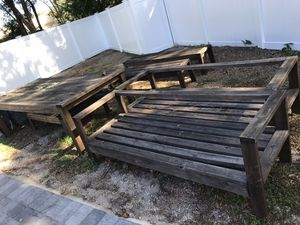 Wood Outdoor Patio Furniture for Sale in Orlando, FL