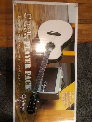 Epiphone PR-4E Acoustic/Electric Guitar for Sale in Groveland, FL