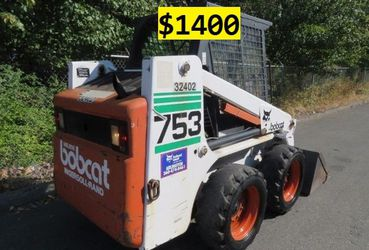 🙏❤️For sale 1997 Bobcat 753 is really clean Nice Price $1400 for Sale in Santa Ana,  CA