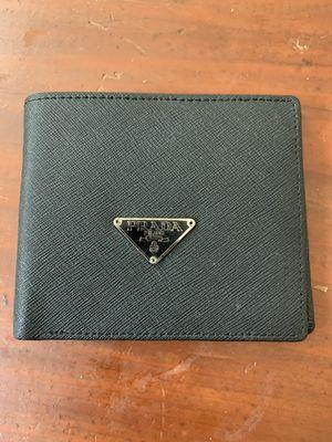 Men's Prada Bi-Fold Wallet for Sale in Villages of Dorchester, MD