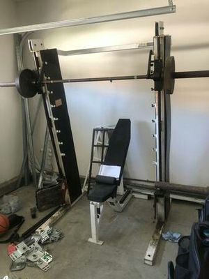Gym smith weights machine for Sale in Canyon Lake, CA