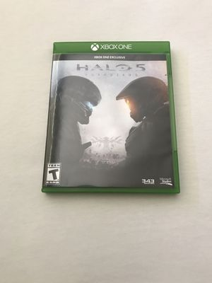 Xbox One Game:Halo 5 Guardians Disc Like New for Sale in Reedley, CA