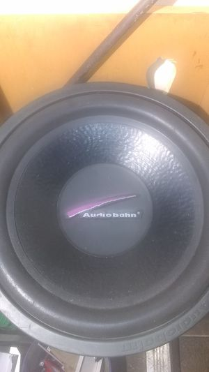 "15"" Audibaun subwoofer s for Sale in Indianapolis, IN"