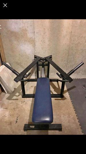 Promaxima Leverage Plate Loaded Bench for Sale in Acworth, GA