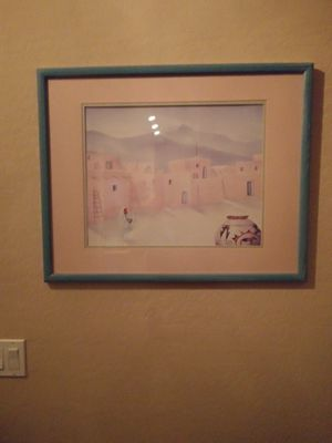 Southwest picture in frame for Sale in Queen Creek, AZ