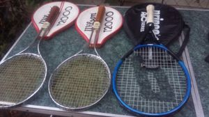Tennis rackets . Make a offer . 1 or all 3 for Sale in Greensboro, NC