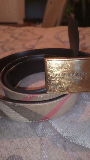 Burberry beige belt for Sale in Houston, TX
