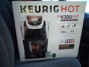 Keurig K200 Plus Brand New In Box for Sale in Seattle, WA