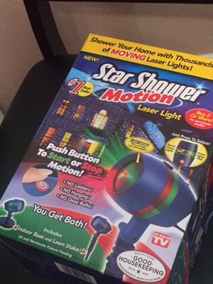 Star Shower Laser Light Projector for Sale in Dallas, TX
