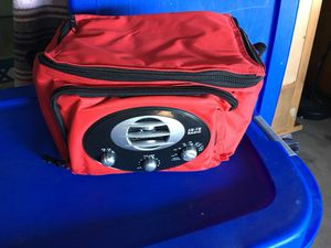 Cooler bag with AM/FM radio for Sale in Plainfield, IL