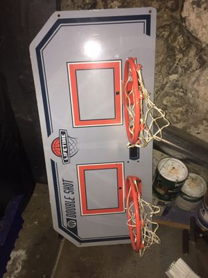 Double Basketball hoop for Sale in Peabody, MA