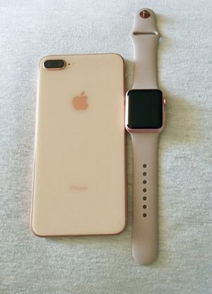 iPhone 8 Plus and Apple Watch for Sale in Hollywood, FL
