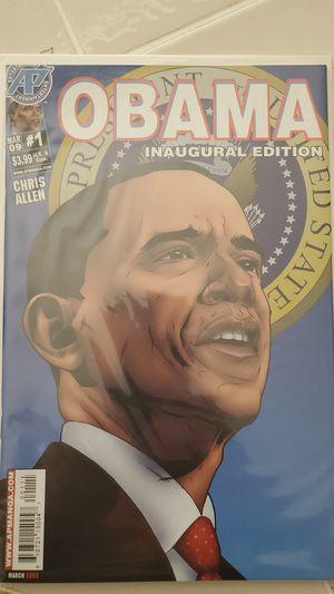 Obama inaugural edition comic book for Sale in San Jose, CA