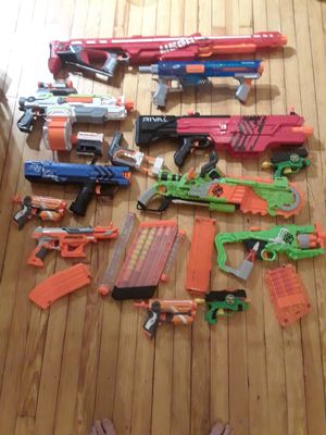Nerf gun collection for Sale in Brooklyn, NY