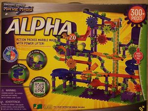 NEW Sealed Marble Mania Alpha 2.0 300 pcs STEM Constructive Play Interactive Toy & Gifts for Boy & Girl by All Learning Journey products for Sale in Lomita, CA