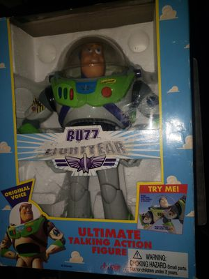 Vintage 1995 Buzz Lightyear in box for Sale in Tacoma, WA