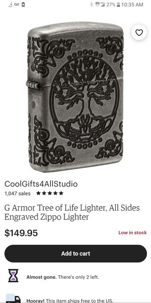 Collectible Zippo Tree of Life for Sale in McClellan Park, CA