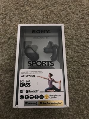 Sony Wireless Noise Cancelling Headphones WF-SP700N for Sale in Folsom, CA