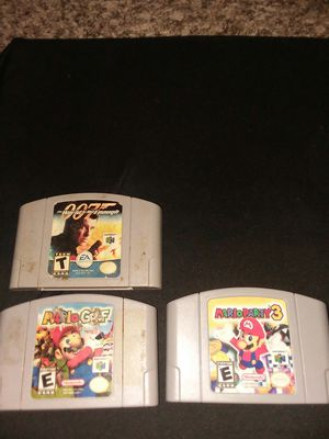 n64 games for Sale in Arlington, TX
