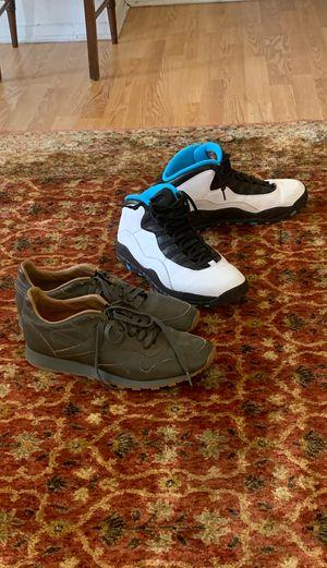 Kendrick Lamar Reebok's and Jordan powder blue 10 for Sale in Philadelphia, PA