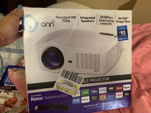 720P portable projector for Sale in Lubbock, TX