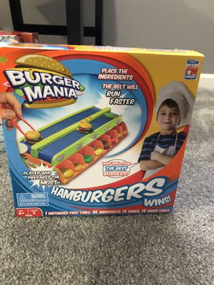 Burger Mania board game for Sale in Dublin, OH
