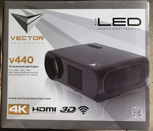 Video Projector 4K LED 7200 Lumens, BRAND NEW Never Used for Sale in Orlando, FL