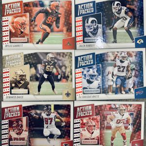 Panini Rookies And Stars 2020 Action Packed Card Lot for Sale in Vista, CA