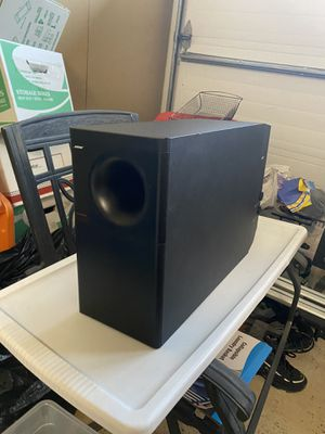 Bose Surround Sound Subwoofer & Speakers $50 for All, Sub needs repair, $1,000 original for Sale in Pleasanton, CA