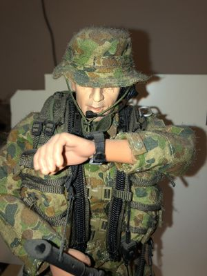 1/6 Scale Custom Made Military Action Figure and Gear for Sale in Montgomery, AL