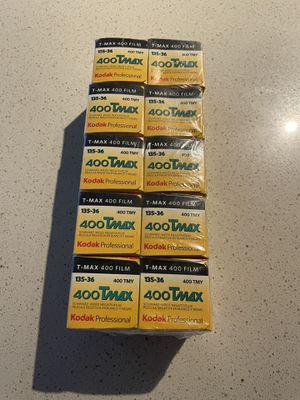 10 pack of film: 400 Tmax Kodak professional for Sale in Portland, OR
