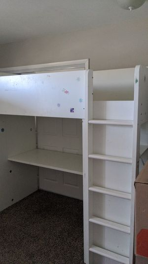 Kids used Ikea desk bed combo for Sale in Denver, CO