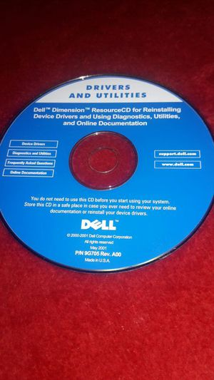 Dell Drivers Utilities for Sale in Fountain, CO
