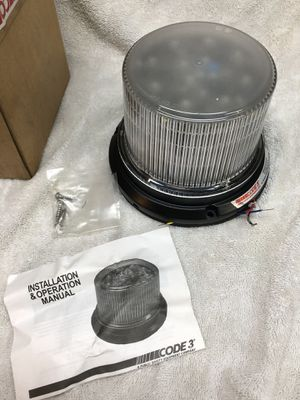 Beacon code 3 light for Sale in Washington, PA
