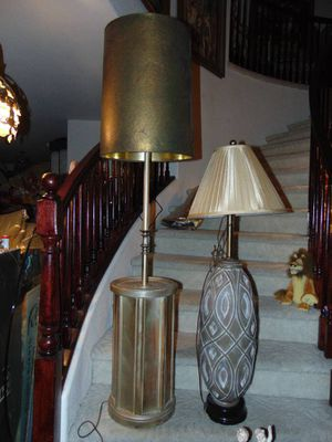Two big lamps for Sale in Las Vegas, NV